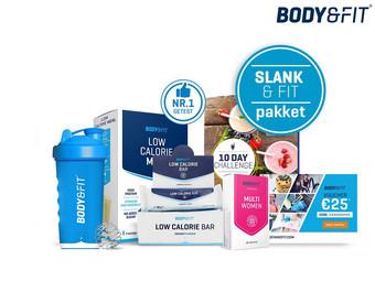 Body&Fit Slank en Fit Challenge Voucher twv 25,- + extra's