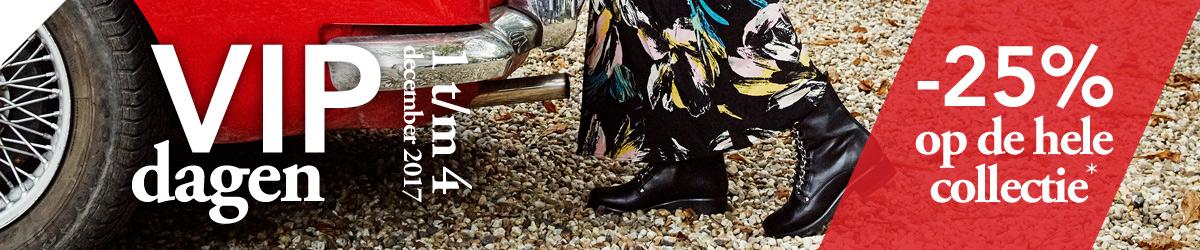 Nelson VIP-dagen: 25% korting op bijna alle schoenen