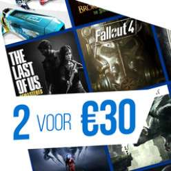 2 games voor €30 @ Playstation Store