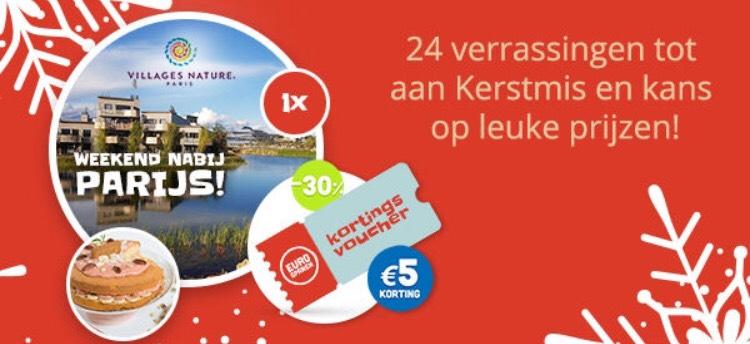 Eurosparen Advents-kerstkalender