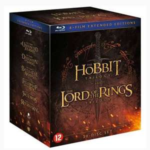 Middle earth collection blu ray van €126,99 voor €59,99 @ Wehkamp