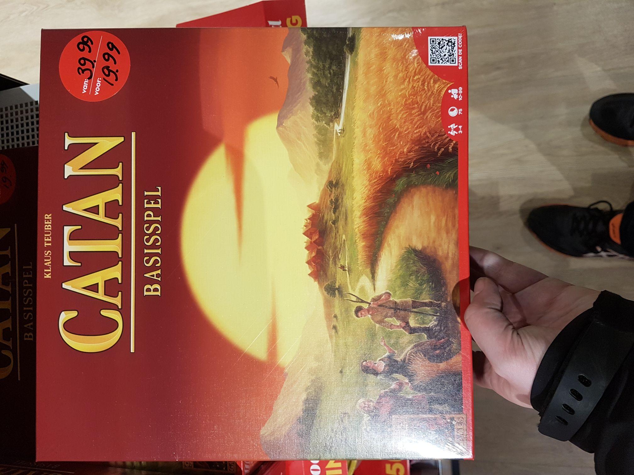 Kolonisten van Catan - basisspel bij de blokker