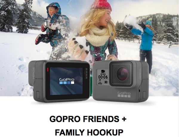 25% korting bij GoPro met één van de onderstaande codes