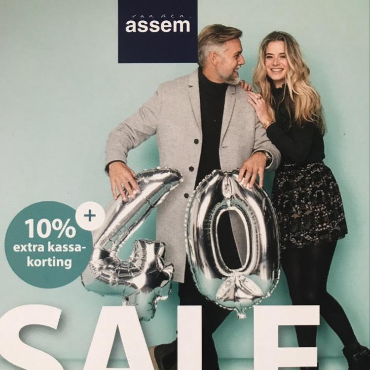 10% Extra kassakorting bij van der Assem schoenen ook op sale