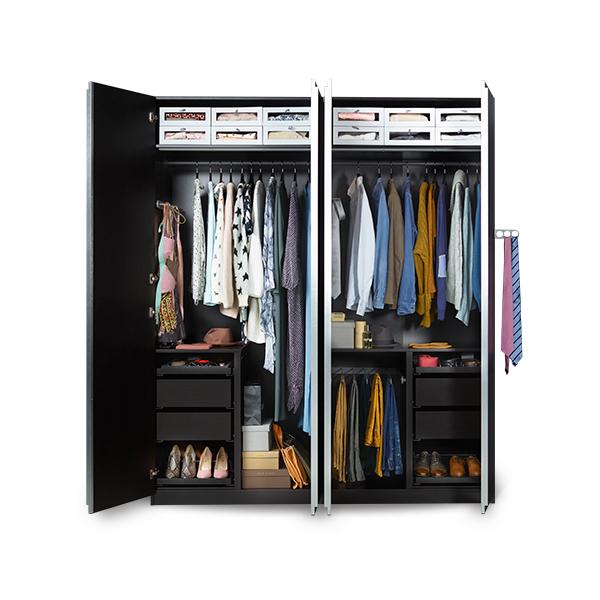 10% 'korting' op alle PAX garderobekasten & Komplement kastinrichting @ IKEA