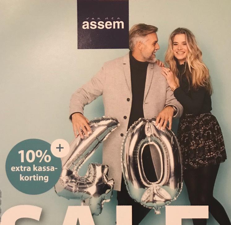 10% Extra kassakorting (ook op sale) @ van der Assem schoenen
