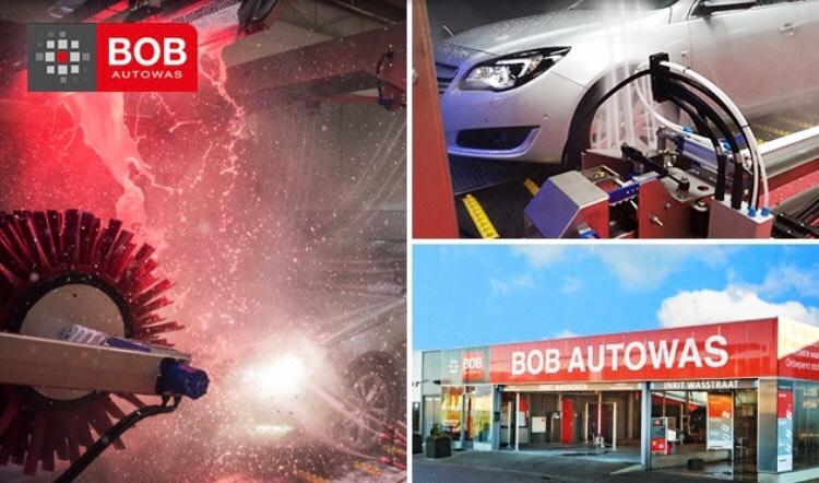 50% korting op intensief wasprogramma BOB autowas!