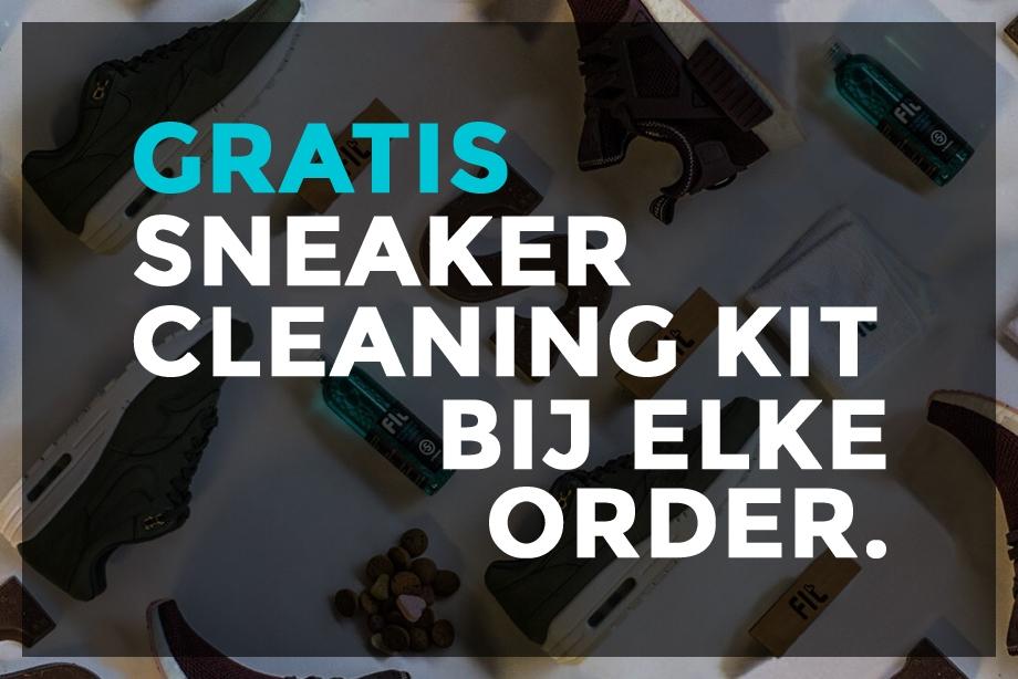 Gratis Fit-Cleaning bij elke order @ Sneakerbaas