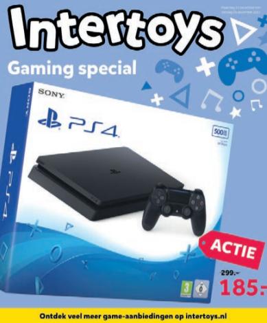 [UPDATE] Playstation 4 Slim 500 GB voor €185 @ Intertoys