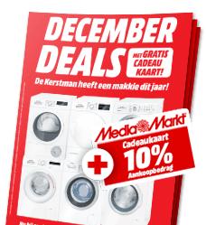DecemberDeals: 10% korting online, kadobon i/d winkel @ Mediamarkt