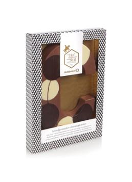 Bijenkorf alle chocoladeletters 1+1 gratis incl gratis verzending!