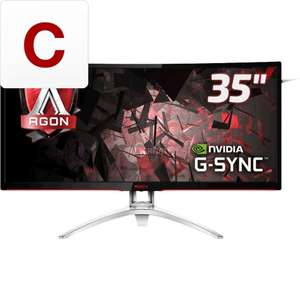 """AOC 35"""" curved 1440p ultrawide met G-Sync"""