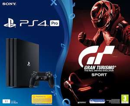 PS4 Pro (1TB) + Gran Turismo @ Bol.com