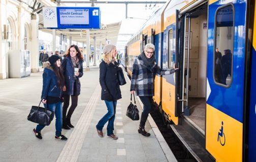 NS enkele reis voor € 11,50 (te koop per 2) geldig t/m 28-02-2018