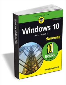 "Gratis eBook: ""Windows 10 All-In-One For Dummies'' ipv 19$"