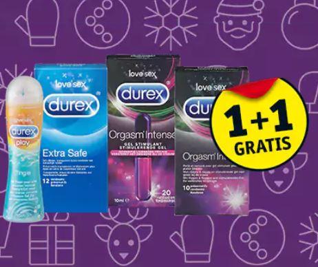Weekendactie: Durex + Durex Play 1+1 gratis @ Kruidvat