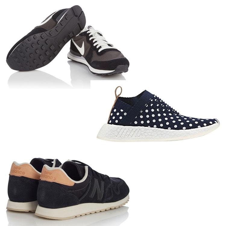 Diverse sneakers van o.a. Nike, adidas, Converse 50% korting @ De Bijenkorf