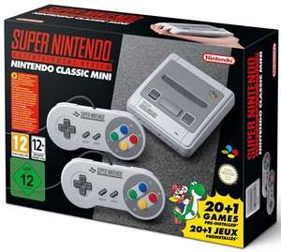 SNES Nintendo Classic mini @toychamp