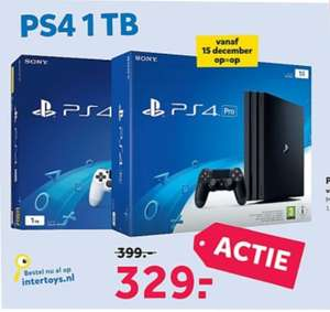 Playstation 4 pro zwart & wit + Call Of Duty WWII voor €329!!