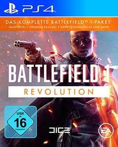 Battlefield 1 Revolution Edition PS4/ONE voor €19,99 @ Amazon.de