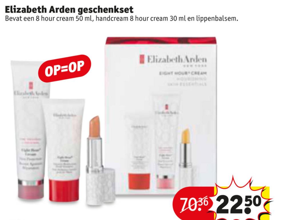 Elisabeth Arden geschenkset van €70,36 voor €22,50