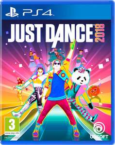 Bol.com Just Dance 2018 - PS4/Xbox One € 27,99 - (€ 17,99 met ABN meer app)