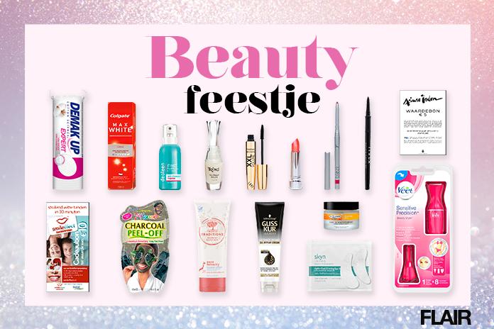 Beautybox met inhoud t.w.v. €176,25 voor €24,95 @ Flair