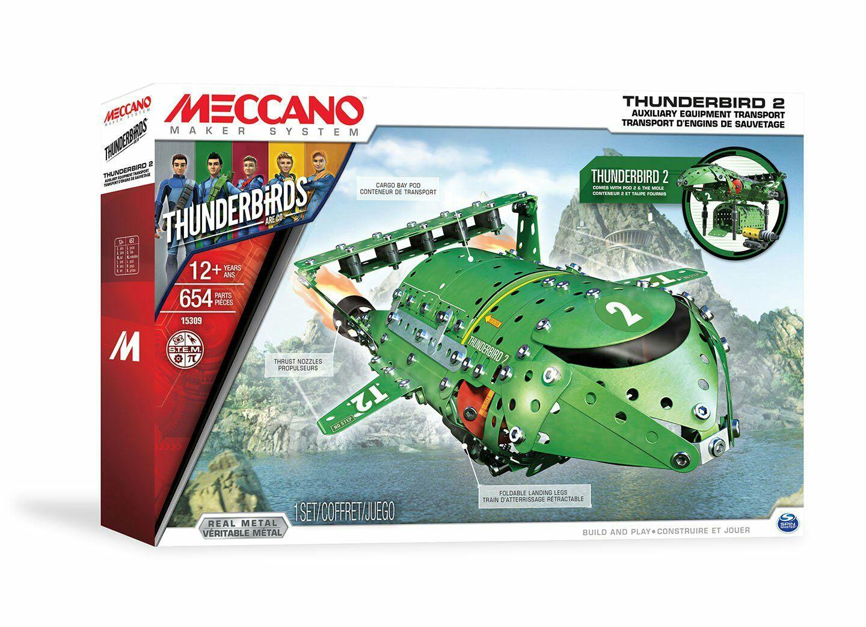 Meccano Thunderbird 2 voor €18,74 @Kruidvat