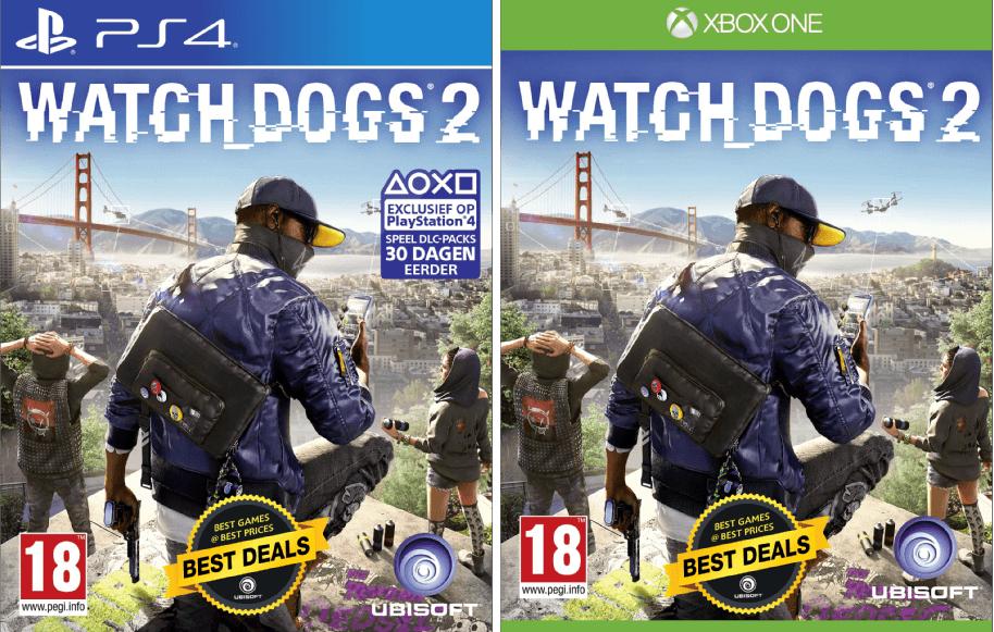 Watch Dogs 2 voor PS4 of Xbox One @ MediaMarkt