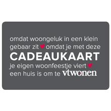 -20% op cadeaucard @ Vtwonen.nl