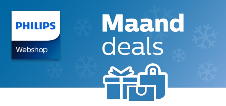 Decemberdeals tot wel 40% korting @ Philips