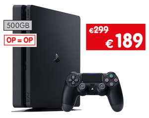 Playstation 4 Slim 500 GB Bundels