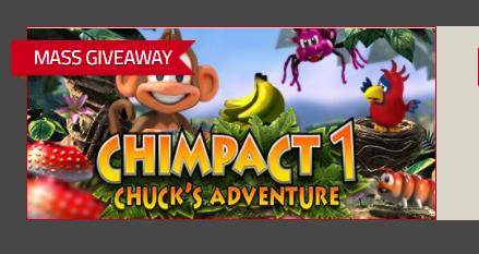 Gratis game CHIMPACT 1 - CHUCK'S ADVENTURE  t.w.v. €4,99 (Steam) @ Indie Gala