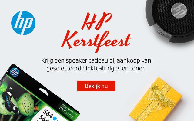 Gratis speaker cadeau bij aankoop van geselecteerde inktcartridges @ HP