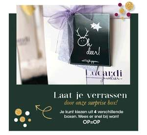 Surprise box voor €49,99 @ Lucardi