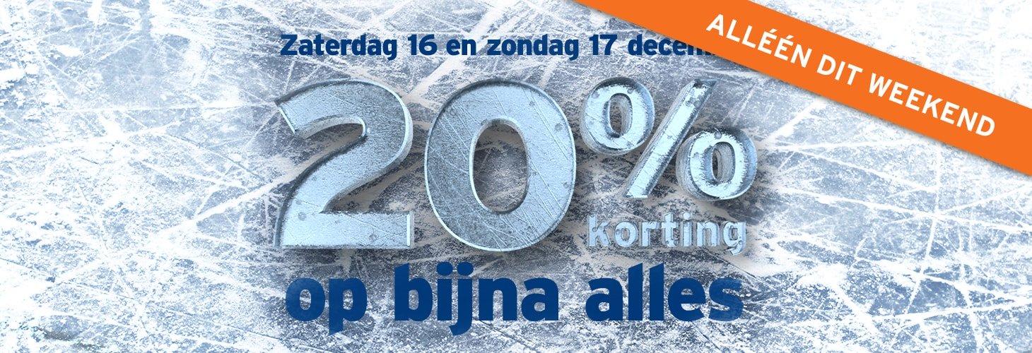 Gamma 20% korting op bijna alles (16 en 17 december)