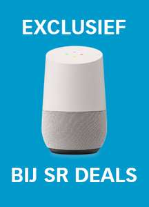 Google Home €130,00 / Mini €69,99 in Nederland