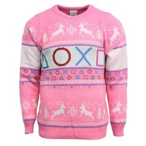 Roze Playstation kersttrui voor €8,79 @ Playstation Gear