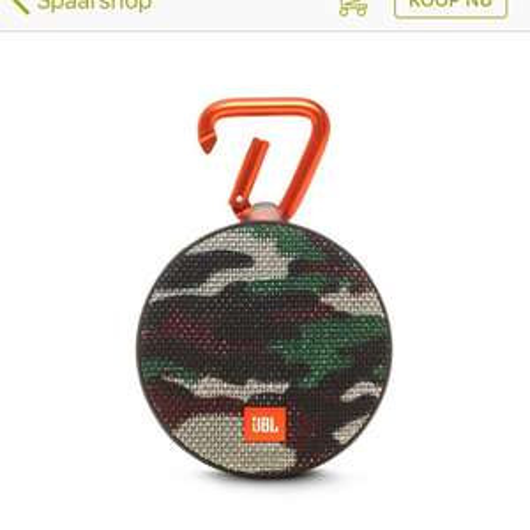 JBL Clip 2 speaker in 4 kleuren