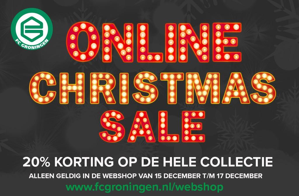 20% korting op de gehele collectie @ FC Groningen