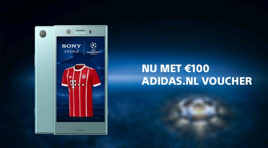 € 100,- Adidas UEFA voucher bij aanschaf Sony ZX1 (compact)
