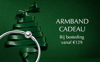 Pandora armband cadeau bij besteding vanaf €129