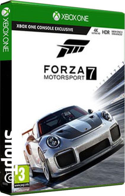 Forza 7 voor XBOX ONE inclusief 2 DLC's 27,50euro inclusief verzenden bij Shopto.net