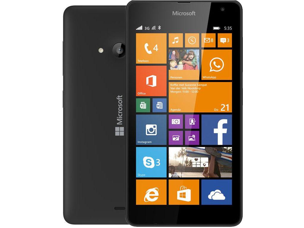 Microsoft Lumia 535 voor €89,- @ Media Markt