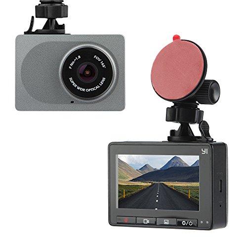 "YI DashCam 1080p/60fps 2.7"" LCD 165° groothoek (Amazon.fr)"