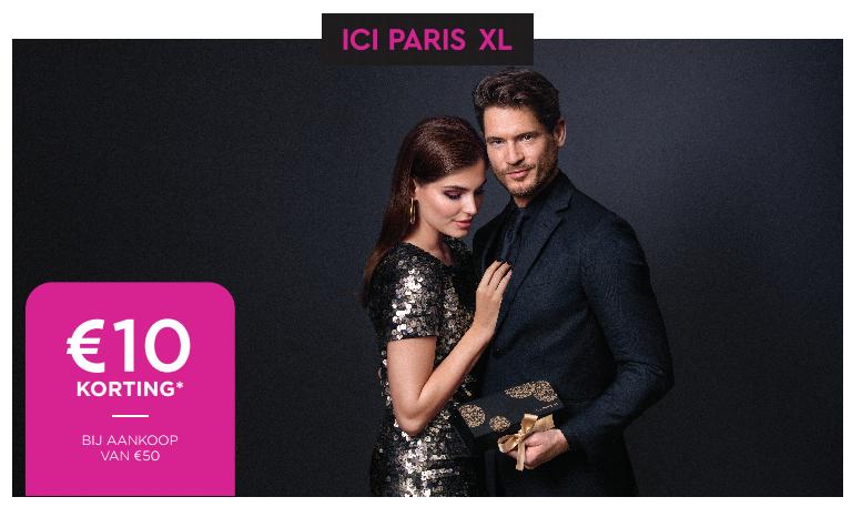 10 euro korting bij aankoop van 50 euro @ ICI Paris XL [België]