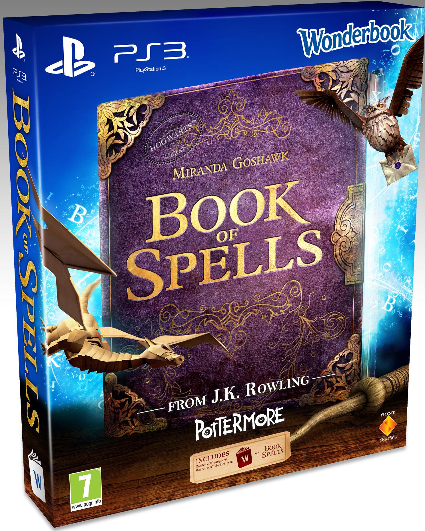 Wonderbook: Book of Spells + AR-Book (PS3) voor € 5 @ Dixons
