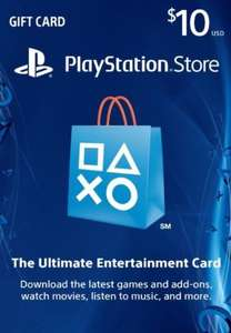 Canadese PlayStation Network Card $10 voor $7,49 @  GameDealDaily