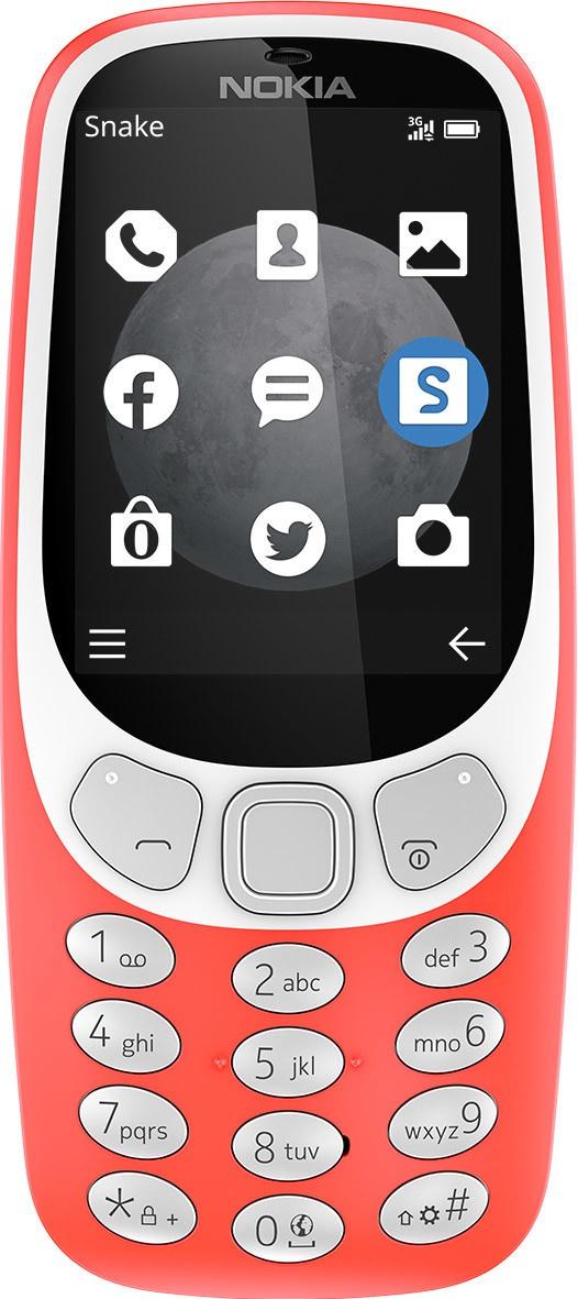 [Update] Nokia 3310 3G (2017) Rood of Geel voor €27,30 @ Kijkshop