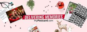 Mypostcard.com app 30% off all Christmas designs and templates in their store.